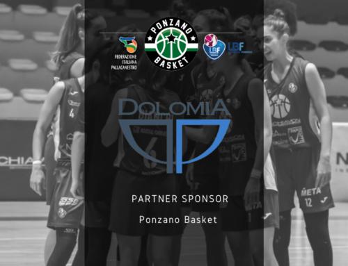 Acqua Dolomia nuovo partner sponsor del Ponzano Basket