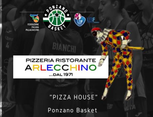 """La Pizzeria """"Arlecchino"""" sarà la """"Pizza House"""" del Ponzano Basket"""